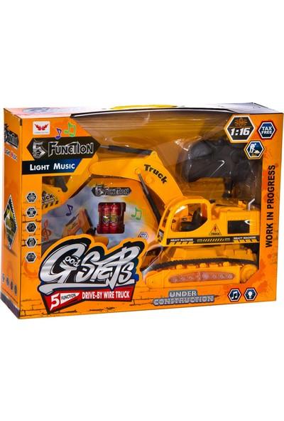 Can-Em Oyuncak Büyük Kumandalı İş Makinası 72628
