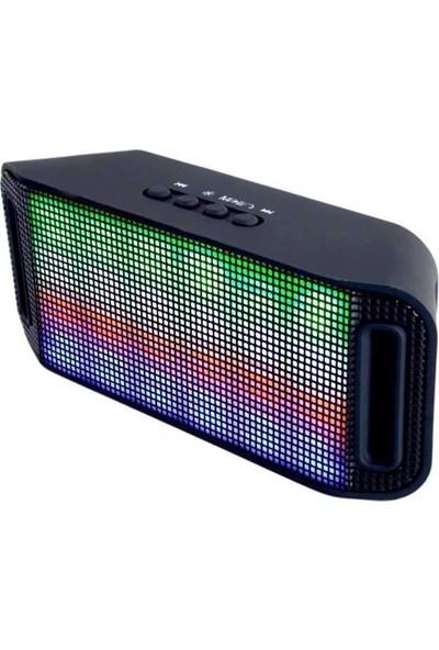 Soundmax Led'Li Hoparlör Mp3 (Bluetooth Usb Tf Kart)