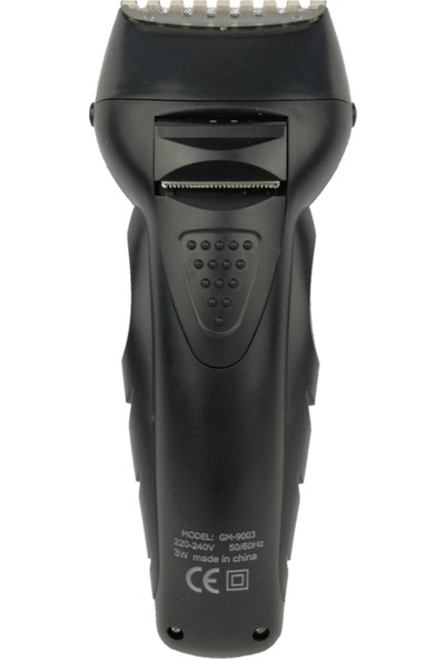 Gemei 2 İn 1 Şarjlı Saç Sakal Traş Makinesi Kuru Kullanım Düzeltici