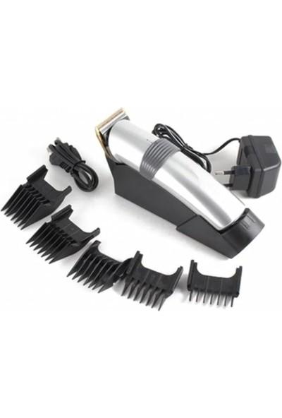 Eragon Profesyonel Şarj Standlı Saç Sakal Kesme Tıraş Traş Makinesi