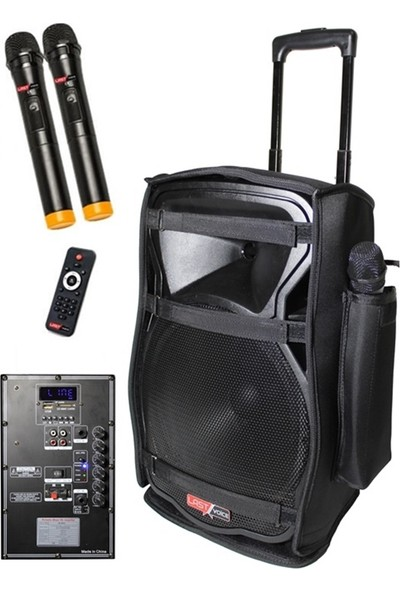 Lastvoice Ls-1915Cs Taşınabilir Akülü Hoparlör Ses Sistemi 300W