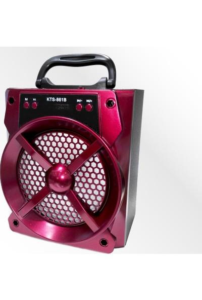 Polygold Pg-413 Micro Sd+Fm Destekli Bluetooth Şarjlı Speaker