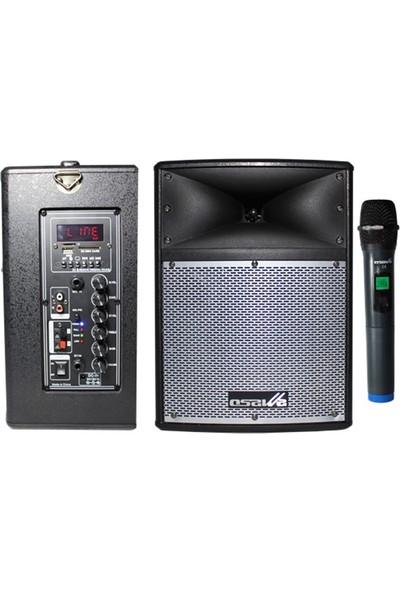 Osawa Osw-9110 Taşınabilir Portatif Seyyar Ses Sistemi 100 Watt