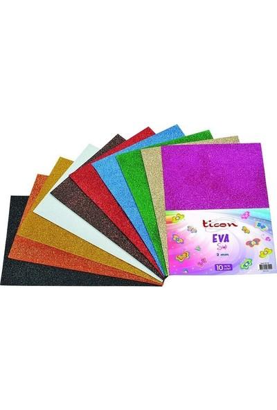 Ticon Eva Simli (2 Mm) 50X70 Cm 10 Renk Karışık Paket