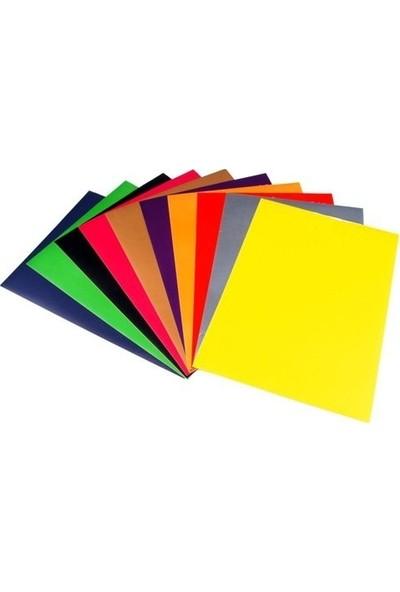 Ticon 50X70 Cm Fon Kartonu 10 Renk 10 Adet Set