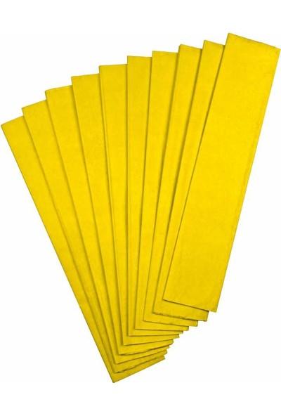 Gıpta Krapon Kağıdı 50 Cm X 200 Cm Sarı Tekli