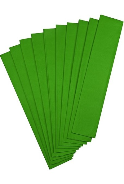 Gıpta Krapon Kağıdı 50 Cm X 200 Cm Yeşil Tekli