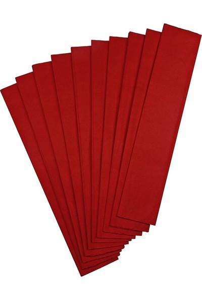 Gıpta Krapon Kağıdı 50 Cm X 200 Cm Kırmızı Tekli
