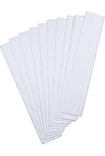 Gıpta Krapon Kağıdı 50 Cm X 200 Cm Beyaz Tekli