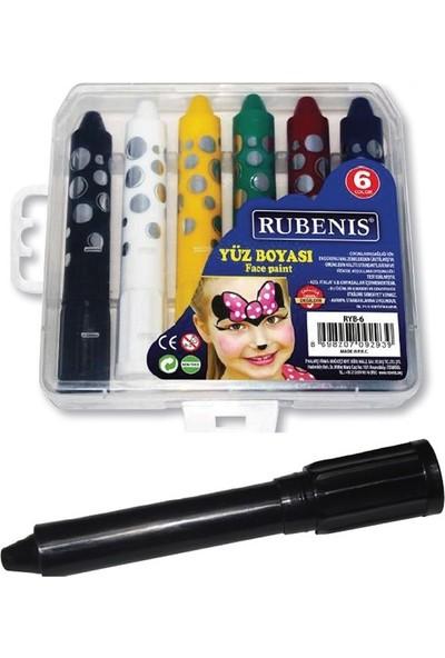 Rubenis Yüz Boyası 6 Renk Ryb-6