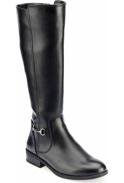 Polaris 82.312406.Z Siyah Kadın Dress Ayakkabı