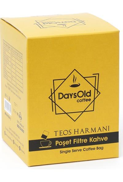 DaysOld Coffee Tek Kullanımlık Poşet Filtre Kahve Teos Harmanı 10 'lu Kutu