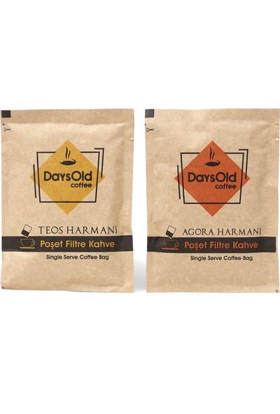 Daysold Coffee Poşet Filtre Kahve Deneme Paketi Teos & Agora Harmanı