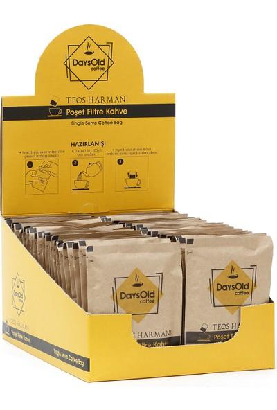 DaysOld Coffee Teos Harmanı Poşet Filtre Kahve 50'li Paket
