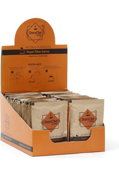 DaysOld Coffee Agora Harmanı Poşet Filtre Kahve, 50'li Paket