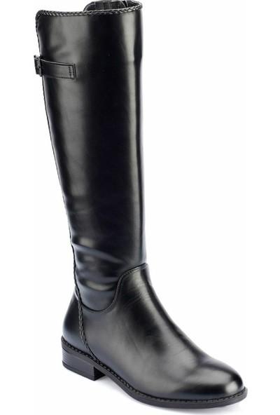 Polaris 82.312365.Z Siyah Kadın Dress Ayakkabı