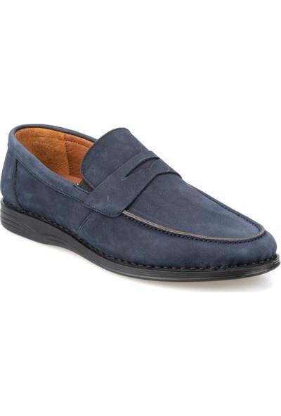 Polaris 5 Nokta 91.100558Nm Lacivert Erkek Deri Klasik Ayakkabı