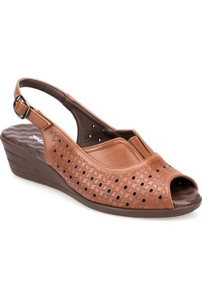 Polaris 91.150795.Z Taba Kadın Sandalet