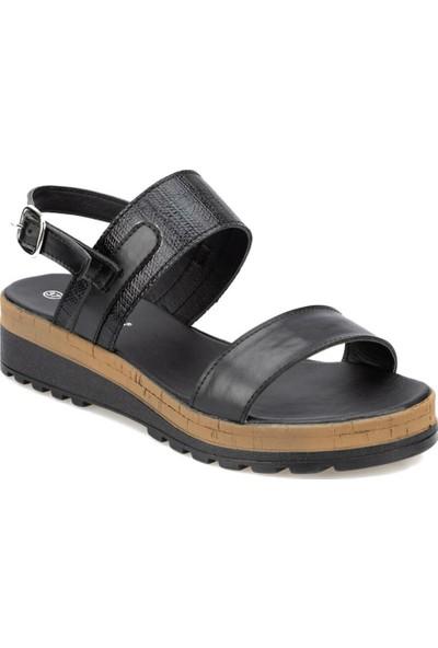 Polaris 91.313524.Z Siyah Kadın Sandalet