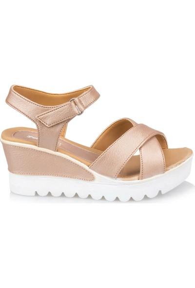 Polaris 91.308569.Z Pembe Kadın Sandalet