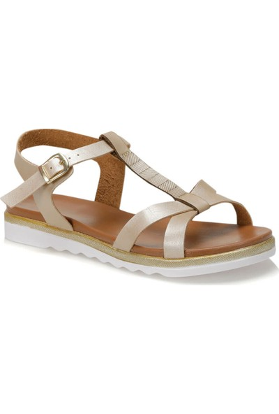 Polaris 91.311491.Z Altın Kadın Sandalet