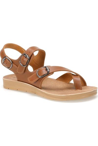 Polaris 91.158657.Z Taba Kadın Sandalet