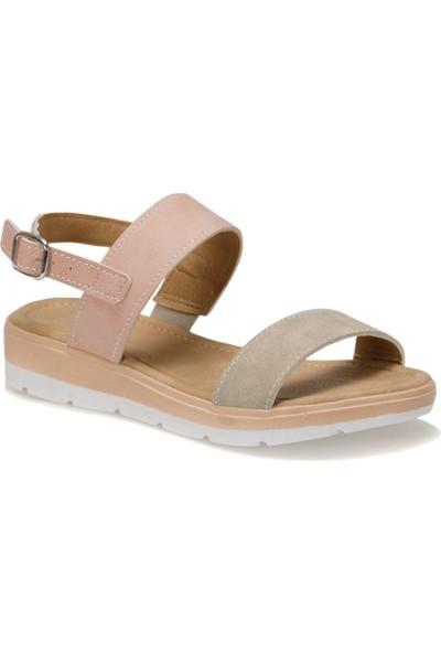 Polaris 91.157385.Z Pudra Kadın Sandalet
