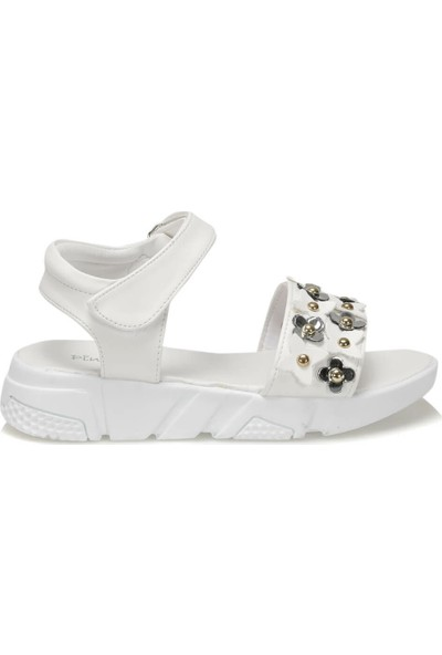 Pink Step 91.Nesis.F Beyaz Kız Çocuk Sandalet
