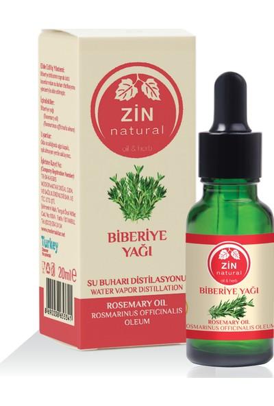 Zin Natural Doğal Biberiye Yağı Rosemary Oil 20ml