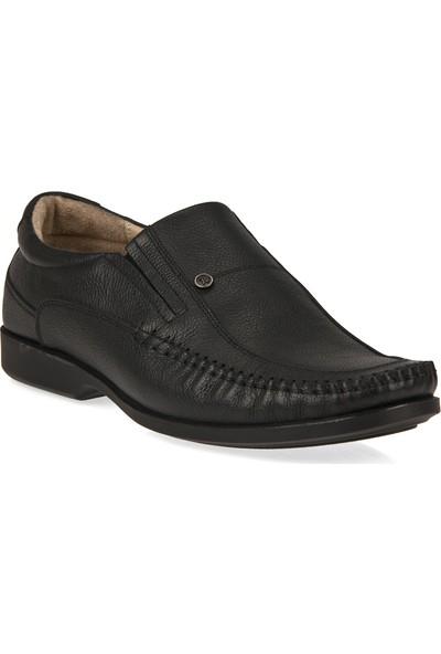 Retto Erkek Hakiki Deri Ayakkabı 91144 2023 Siyah