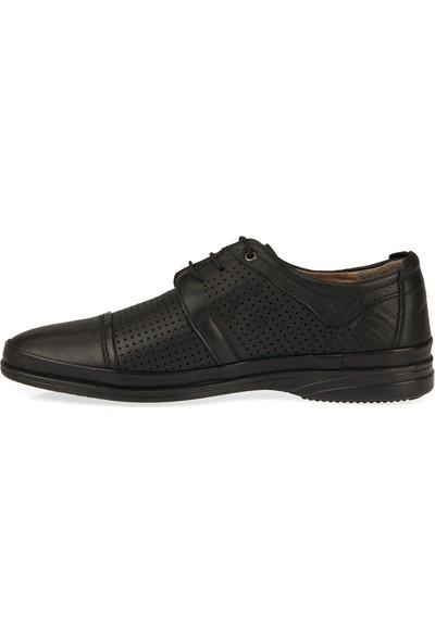 Retto Erkek Hakiki Deri Ayakkabı 91144 5058 Siyah