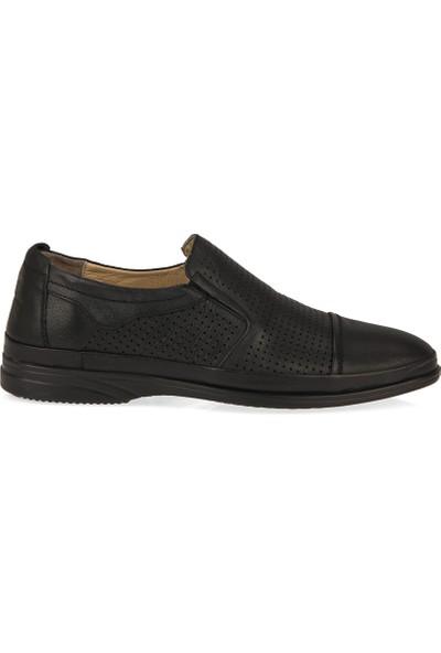 Retto Erkek Hakiki Deri Ayakkabı 91144 5059 Siyah
