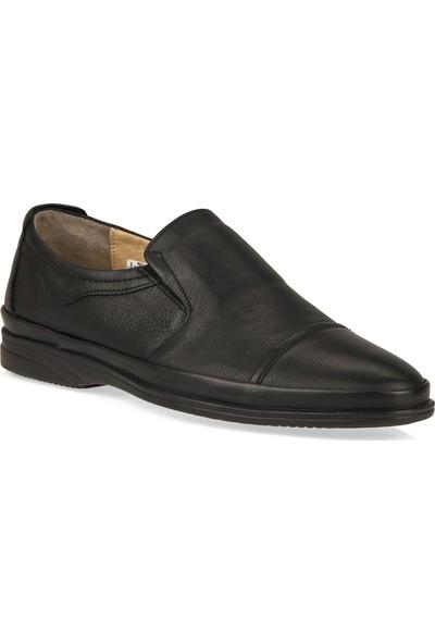 Retto Erkek Hakiki Deri Ayakkabı 91144 5067 Siyah