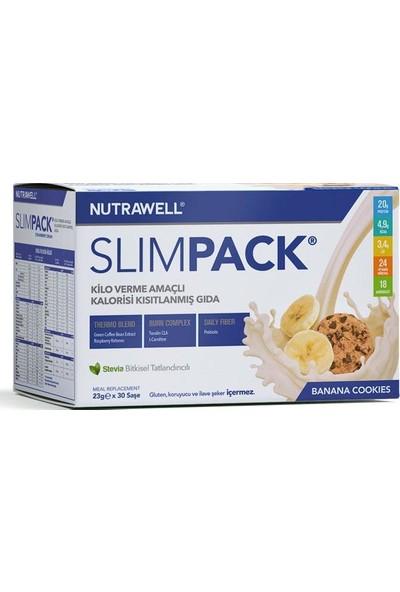Nutrawell Slimpack Banana Cookies Flavored 23gr*30sase