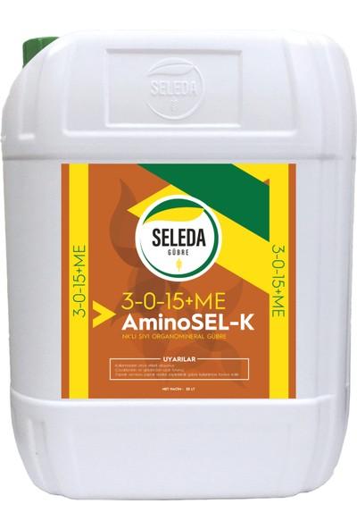 Seleda Aminosel-K Sıvı Organik Gübre 20 Lt