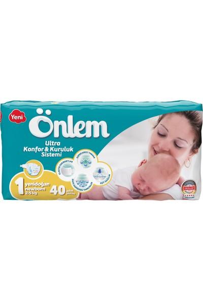 Önlem Bebek Bezi 1 Beden Yenidoğan 2-5 kg 40 Adet