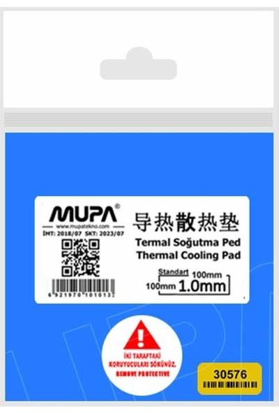 Mupa Termal Ped Sogutucu 1.0mm 100MM 100MM 1.3W/M-K