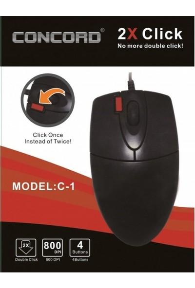 Concord C-1   Optik Kablolu Mouse