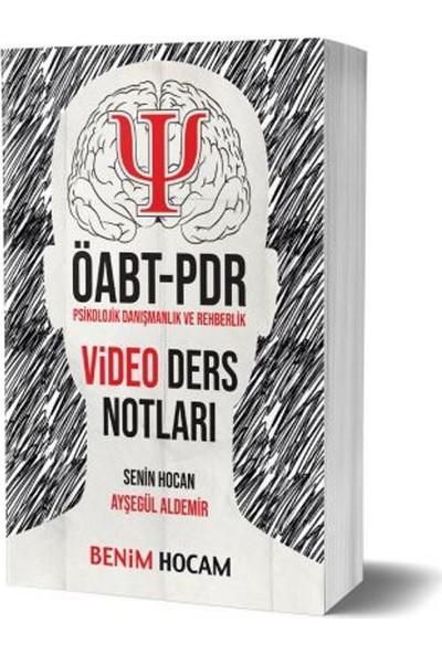 Benim Hocam Yayınları 2019 ÖABT Psikolojik Danışmanlık Ve Rehberlik Video Ders Notları - Ayşegül Aldemir