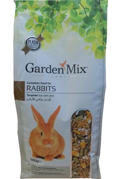 Garden Mix Platin Seri Tavşan Yemi 1 Kg ( 5 Adet )