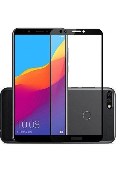 Morcep Huawei Y6 2018 5D Glass Ekran Koruyucu Cam