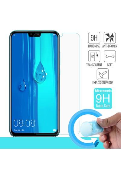 Morcep Huawei Y9 2019 Nano Glass Nano Ultra İnce Cam Ekran Koruyucu