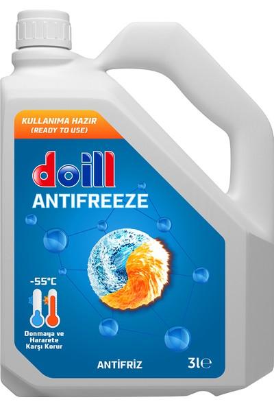 Doill -55 Derece Mavi Antifriz 3 Litre