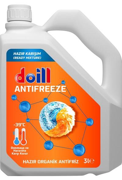 Doill -39 Derece Hazır Karışım Organik Kırmızı Antifriz 3 lt