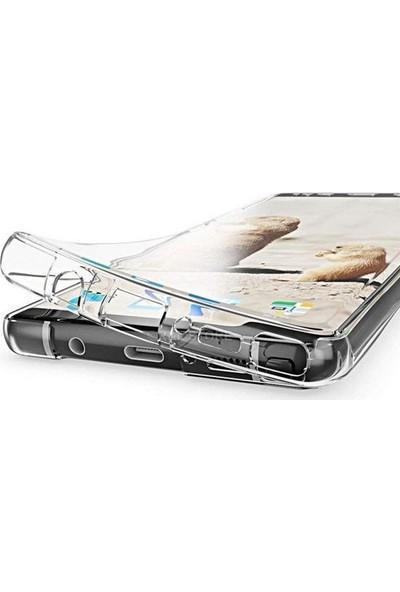 Case Street Samsung Galaxy Note 8 Kılıf Ön Arka Şeffaf Silikon Koruma Şeffaf