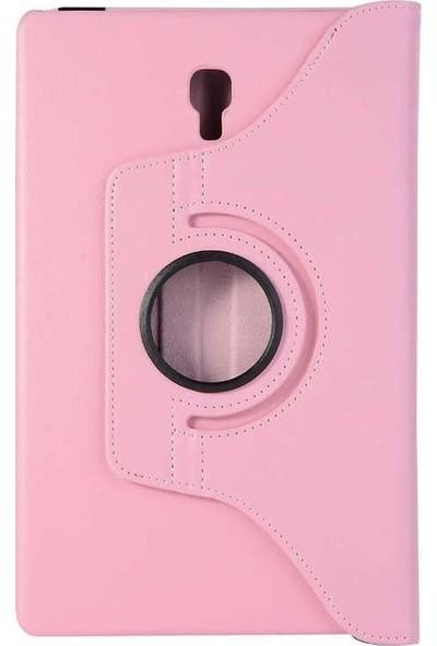 Case Street Samsung Galaxy Tab S4 T-830 Kılıf Dönerli Standlı Koruma Açık Pembe