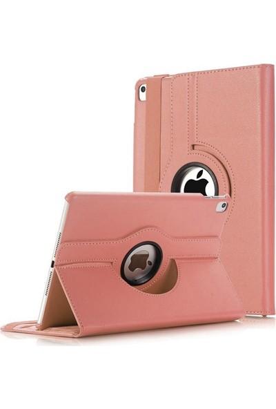 Case Street Apple iPad Pro 11 Kılıf Kapaklı Dönerli Standlı Koruma Bronz