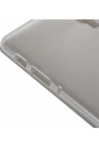 Case Street Samsung Galaxy Tab A T-590 Kılıf Smart Cover Standlı Koruma Beyaz