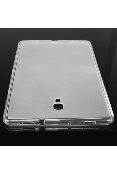 Case Street Samsung Galaxy Tab A 10.5 T590 Silikon Şeffaf Kılıf Renksiz
