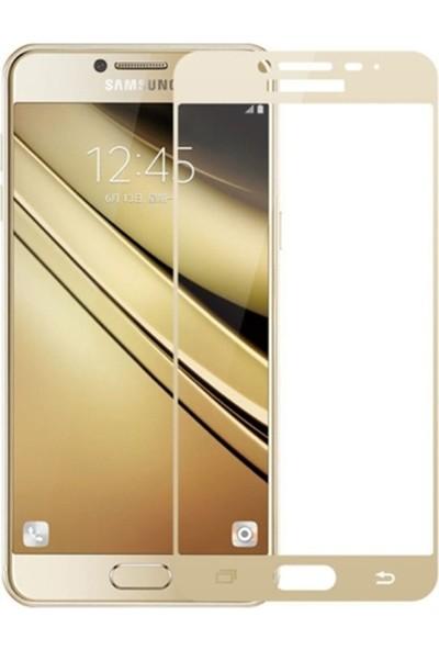 Case Street Samsung Galaxy J5 Prime Full Kapatan Renkli Cam Gold
